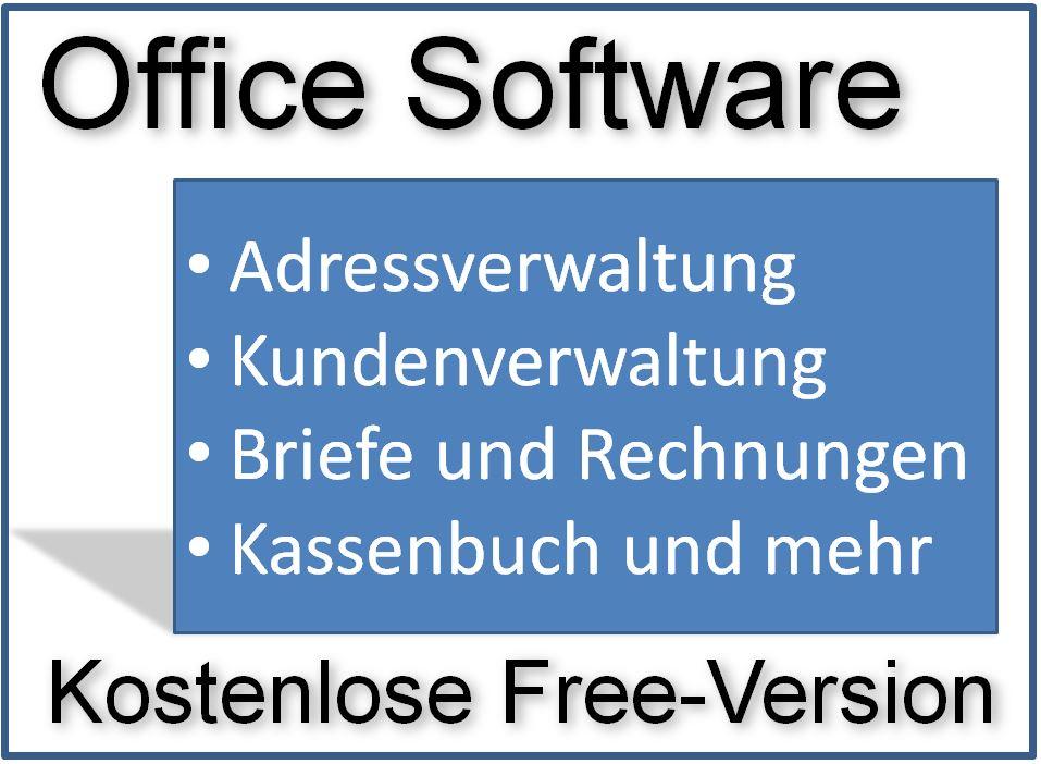 Office Software Kostenlos Mit Adressverwaltung Und Kundendatenbank